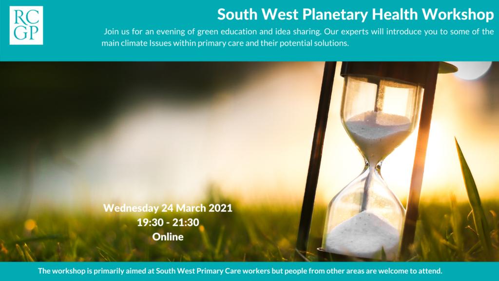 Planetary Health Workshop