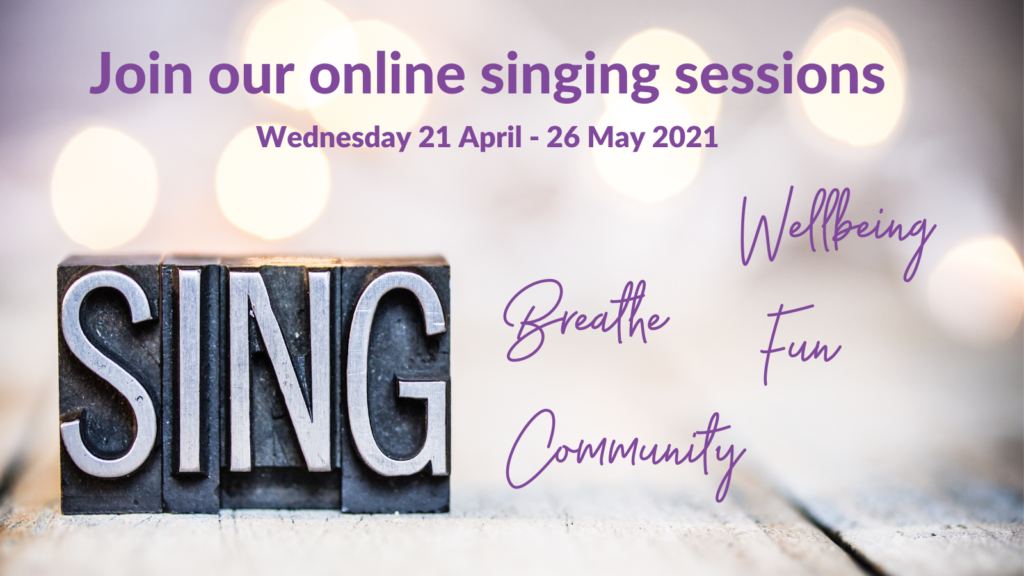 Online singing and wellbeing
